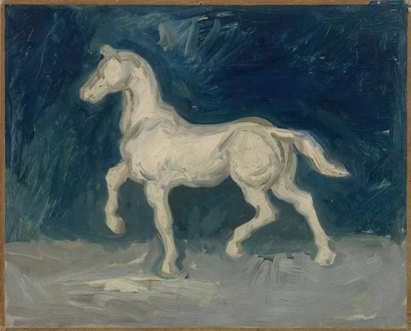 Painting - Horse Paris, June 1886 Vincent Van Gogh 1853  1890 by Artistic Panda