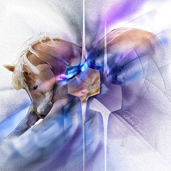 Painting - Horse Prayer by Jackie Flaten
