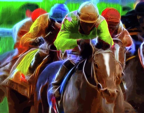 Photograph - Horse Race by Coleman Mattingly