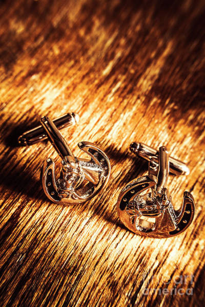 Linked Photograph - Horse Racing Cuff Links by Jorgo Photography - Wall Art Gallery