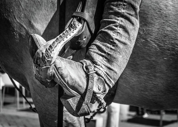 Photograph - Horse Rider by Gary Gillette