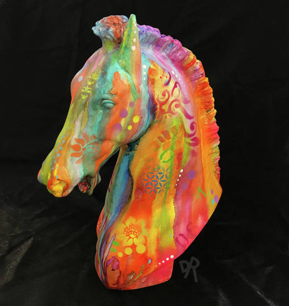 Painting - Horse Sculpture by Dean Russo Art