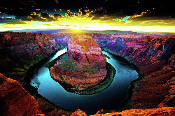 Photograph - Horse Shoe Bend by Norman Hall