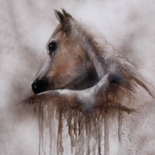 Painting - Horse Shy by Jackie Flaten