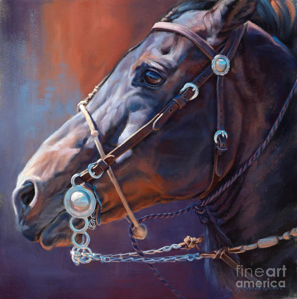 Painting - Horse Study by JQ Licensing