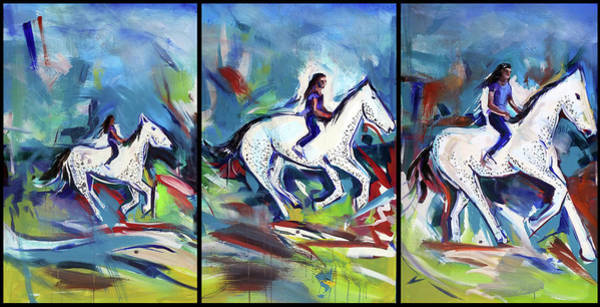 Painting - Horse Three II by John Jr Gholson
