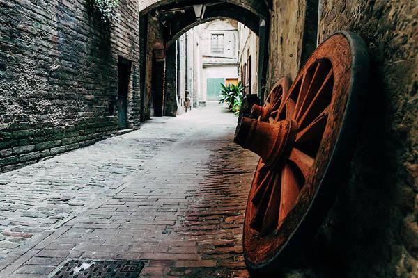 Photograph - Horse Wagon Wheels by Alexandre Rotenberg