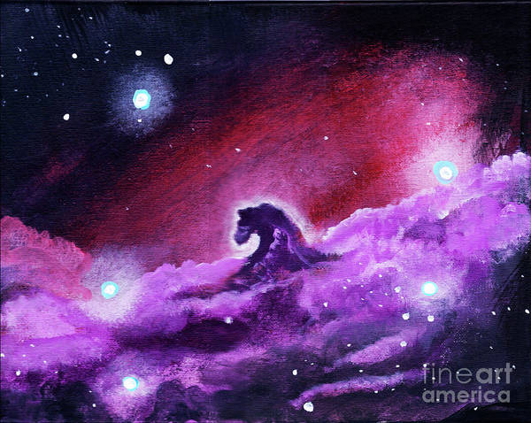 Star Formation Painting - Horsehead Nebula 1 by Jamie Hartley
