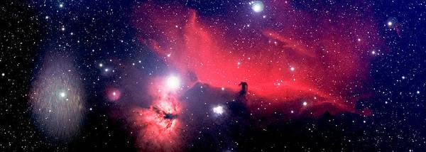 Horsehead Nebula Panorama Art Print