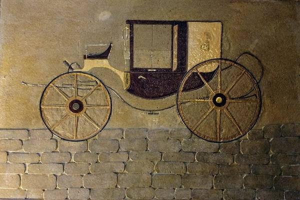 Mixed Media - Horseless Carriage by Edward Longo