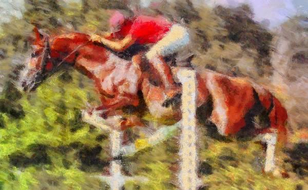 Digital Art - Horsemanship by Caito Junqueira