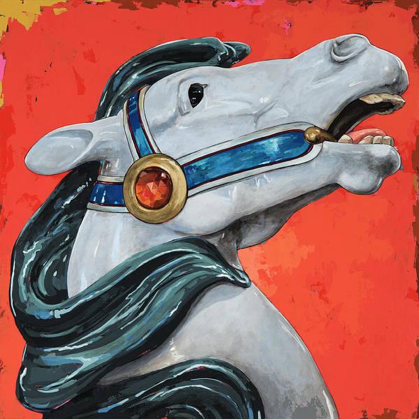Wall Art - Painting - Horses #5 by David Palmer