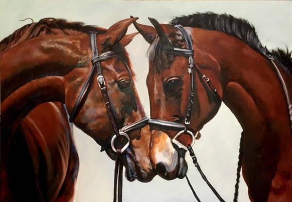 Wall Art - Painting - Horses by Robert Korhonen