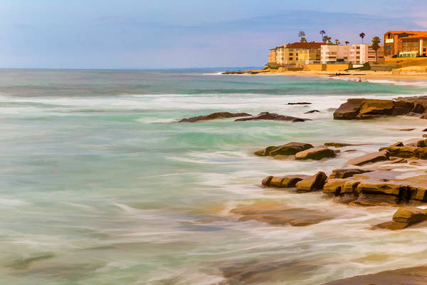 California Coast Digital Art - Horseshoe Beach by Peter Tellone