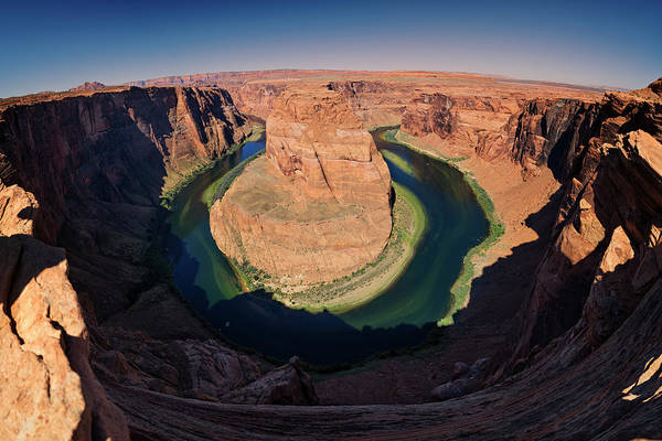 Wall Art - Photograph - Horseshoe Bend by Ricky Barnard