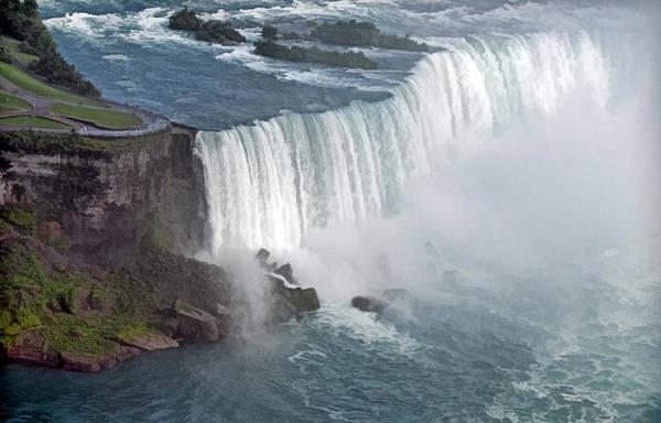 Photograph - Horseshoe Falls At Niagara by Ginger Wakem