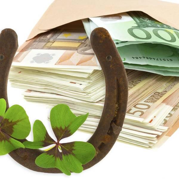 Horseshoe Digital Art - Horseshoe Money Luck 80595 2732x2732 by Mery Moon