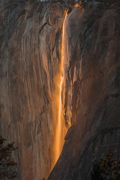 Horsetail Fall 1 Yosemite Art Print