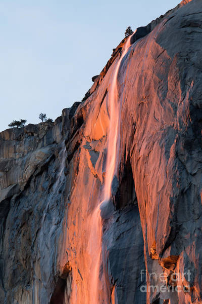 Photograph - Horsetail Falls 2 by Vincent Bonafede