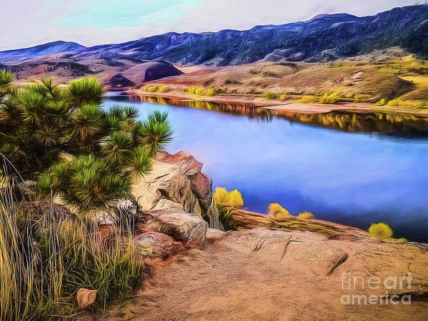 Photograph - Horsetooth Dreams by Jon Burch Photography