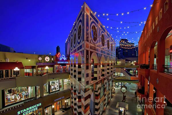 Photograph - Horton Plaza Shopping Center by Sam Antonio Photography