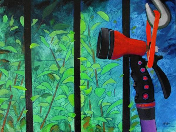 Painting - Hosed by Steve Kobb