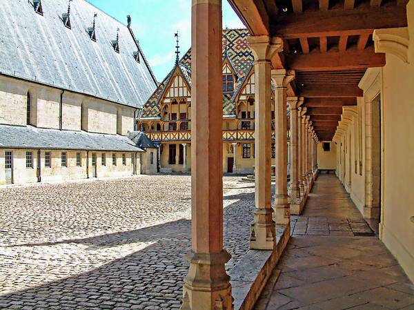 Digital Art - Hospices De Beaune by Joseph Hendrix