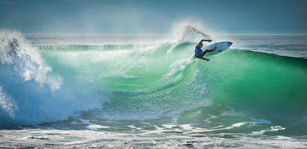Surf Photograph - Hossegor Pro 2013 by Arnaud Beau