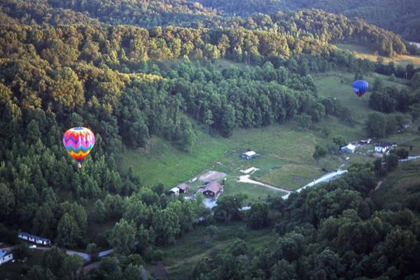 Hot Air Balloon - 3 Art Print by Randy Muir