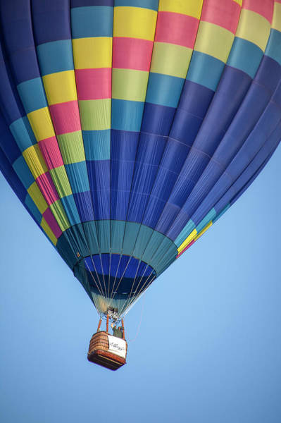 Photograph - Hot Air Balloon And Bucket by Randall Nyhof