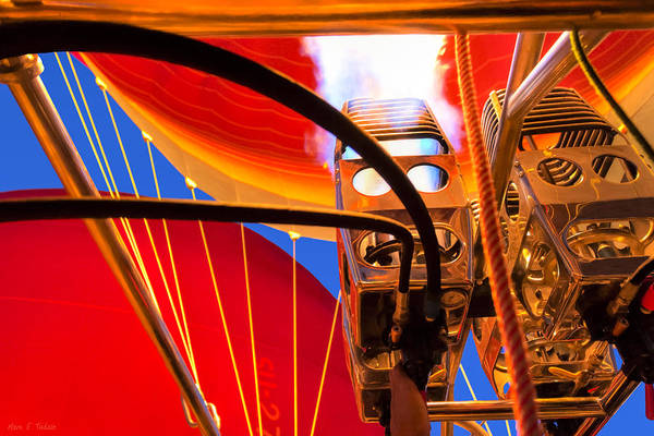 Photograph - Hot Air Balloon Burners In Action by Mark Tisdale