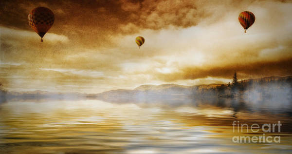 Photograph - Hot Air Balloon Escape by Ian Mitchell