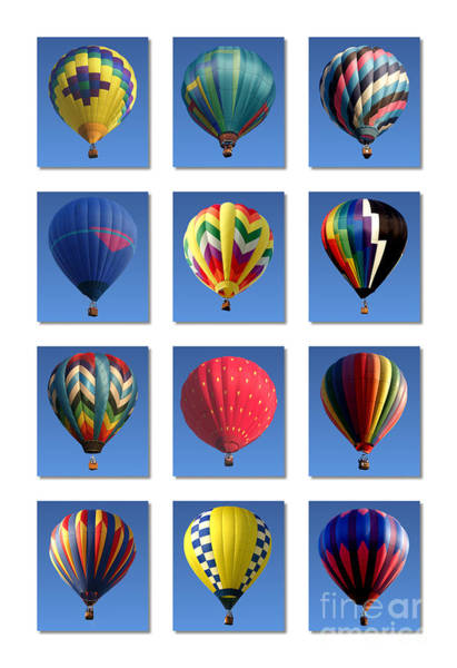 Photograph - Hot Air Balloon Poster by Olivier Le Queinec