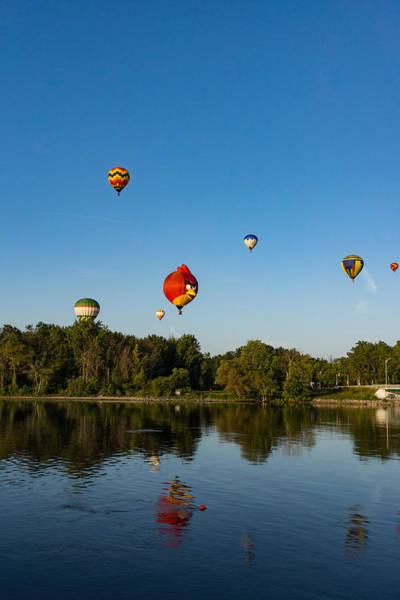 Photograph - Hot Air Balloon Rides by Georgia Mizuleva