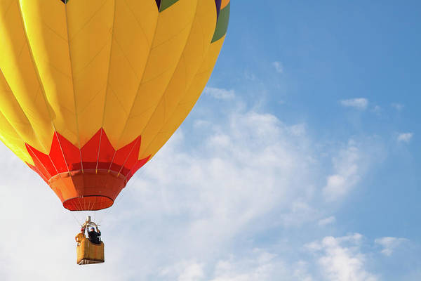 Photograph - Hot Air Balloon by SR Green