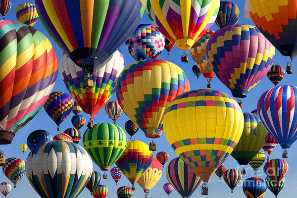Wall Art - Photograph - Hot Air Ballooning 2 by Anthony Totah