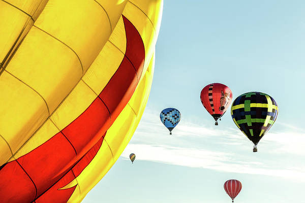 Photograph - Hot Air Balloons by Pete Hendley