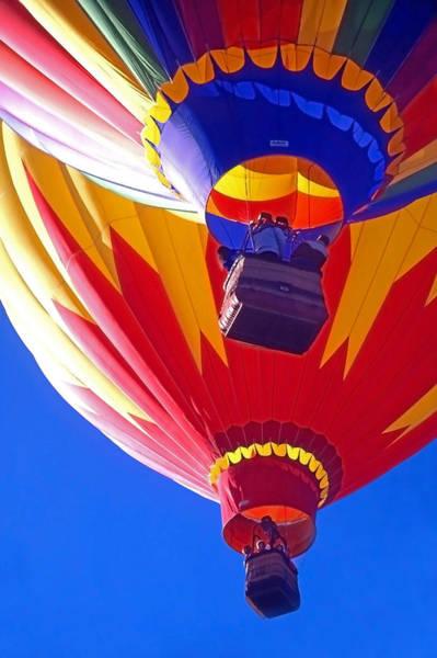 Fun Wall Art - Photograph - Hot Air Balloons  by Steve Ohlsen