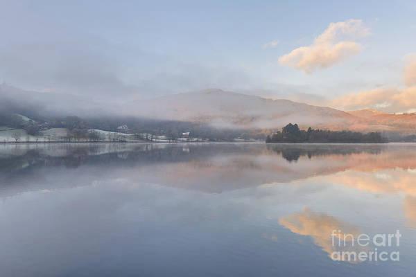 Hot And Cold Grasmere Lake District Art Print
