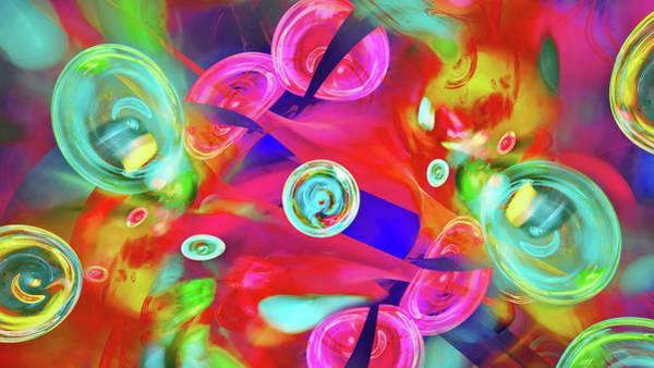 Digital Art - Hot Candy by Menega Sabidussi