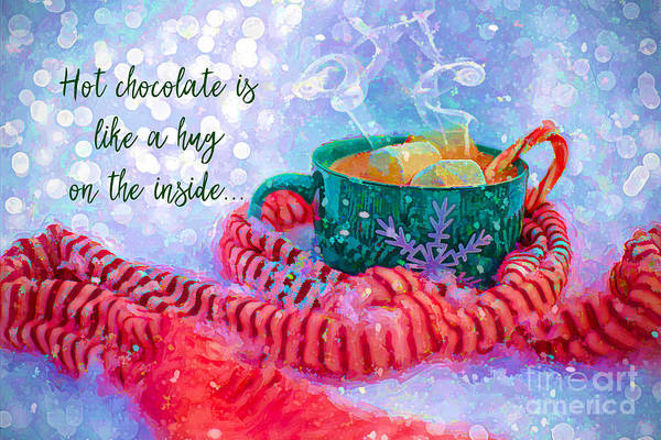 Digital Art - Hot Chocolate 2016 by Kathryn Strick