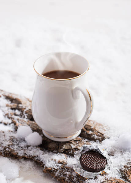 Wall Art - Photograph - Hot Chocolate Drink by Amanda Elwell