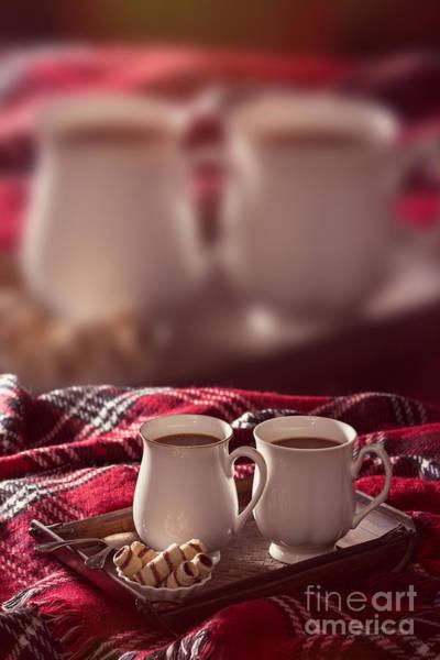 Wall Art - Photograph - Hot Chocolate Drinks Advert by Amanda Elwell