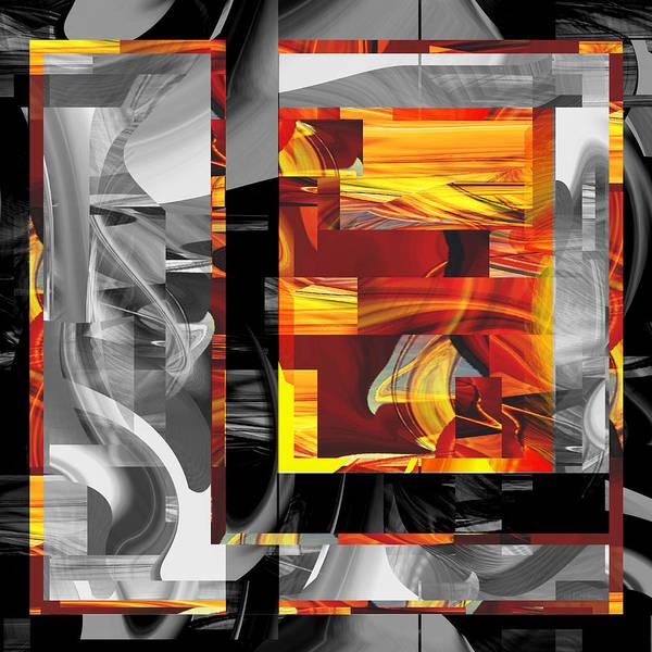 Digital Art - Hot Color Nineteen - U013 by rd Erickson