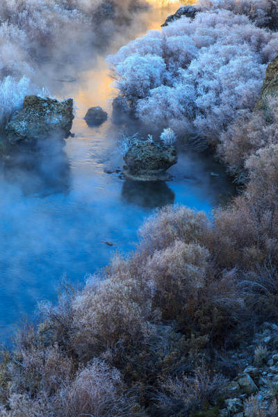 Photograph - Hot Creek by Johnny Adolphson