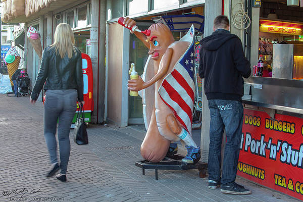 Photograph - Hot Dog by Beverly Cash