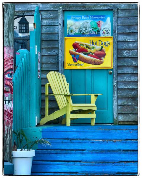 Cedar Key Photograph - Hot Dogs by Jurgen Lorenzen