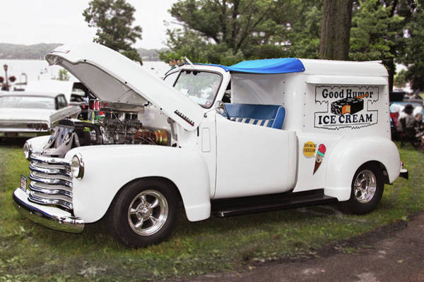 Photograph - Hot Ice Cream Truck by Bob Slitzan