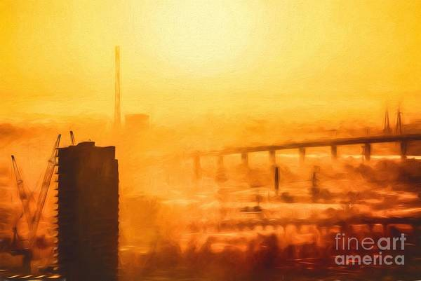 Photograph - Hot In The City    Go1 by Ray Warren