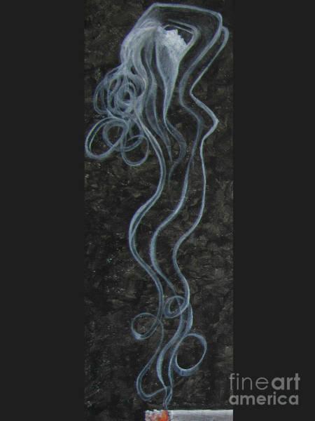 Wall Art - Painting - Smoking Hot by Jeepee Aero